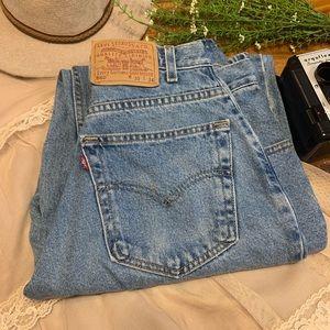 Vintage VTG Levi's 560 High Rise Mom Jeans Sz 30